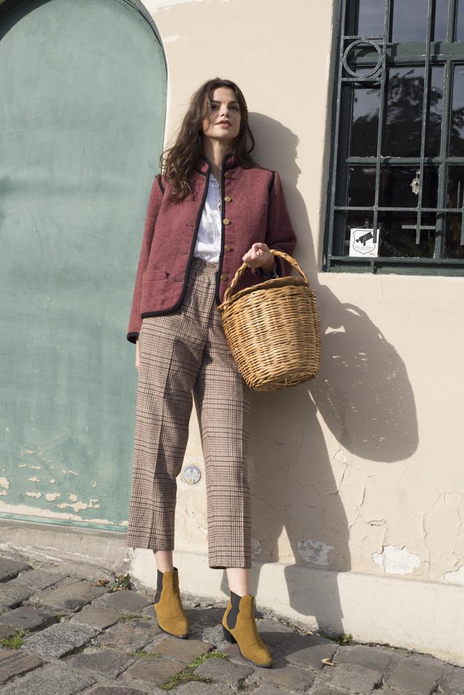 Pantalons - Pantalon en tweed