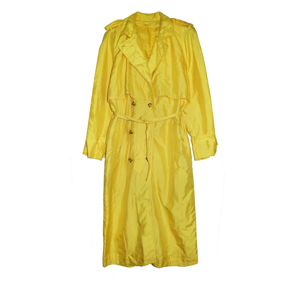 Manteaux - Trench jaune