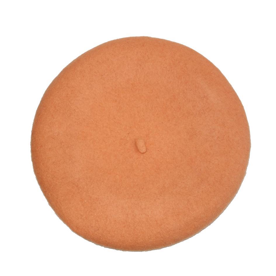 Accessoires - Béret abricot