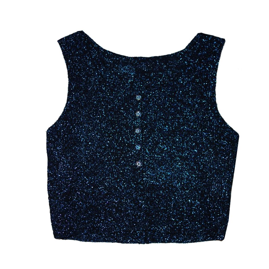 Tops - Cropped top Lurex