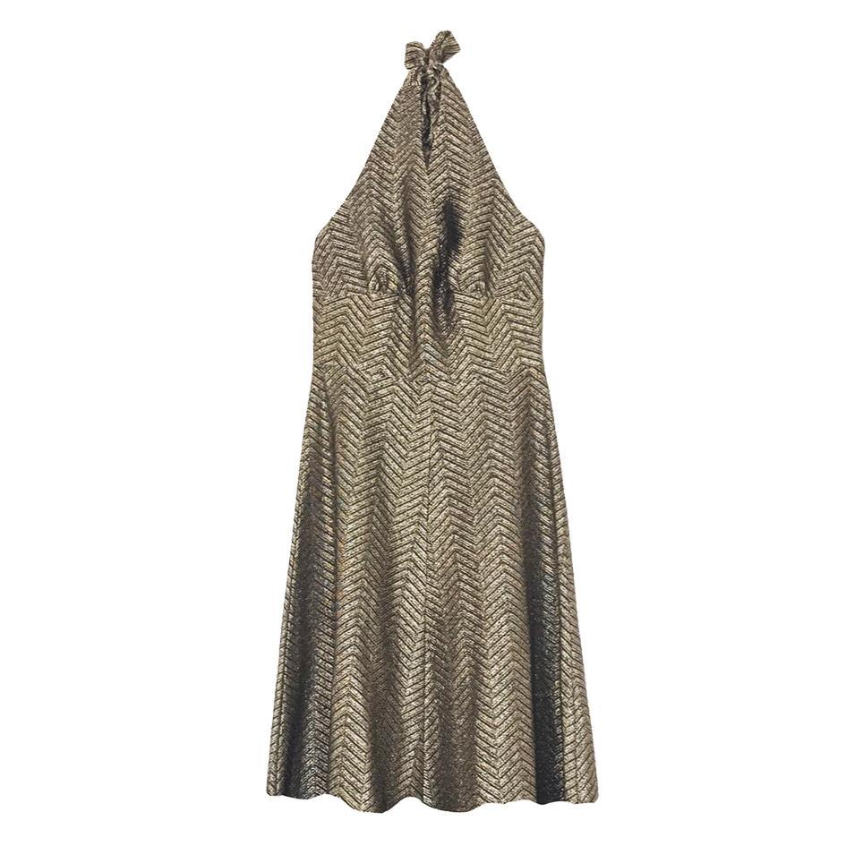 Robes - Robe dorée
