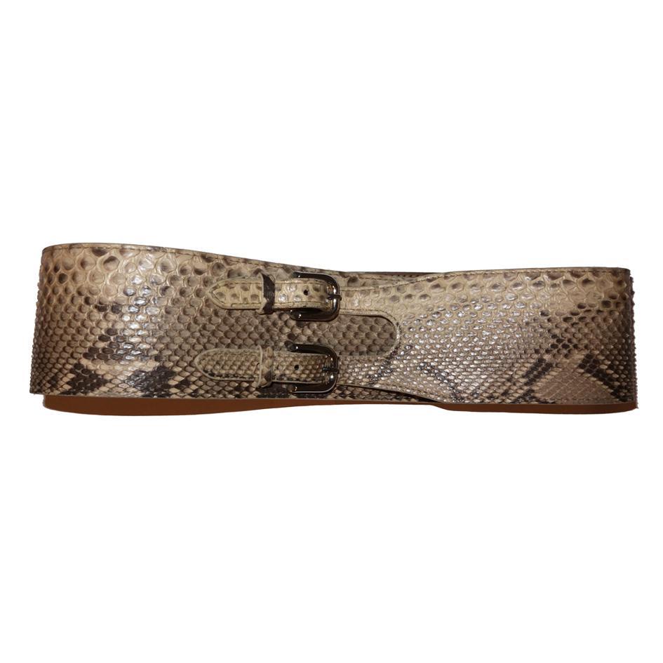 Accessoires - Ceinture Pucci en python