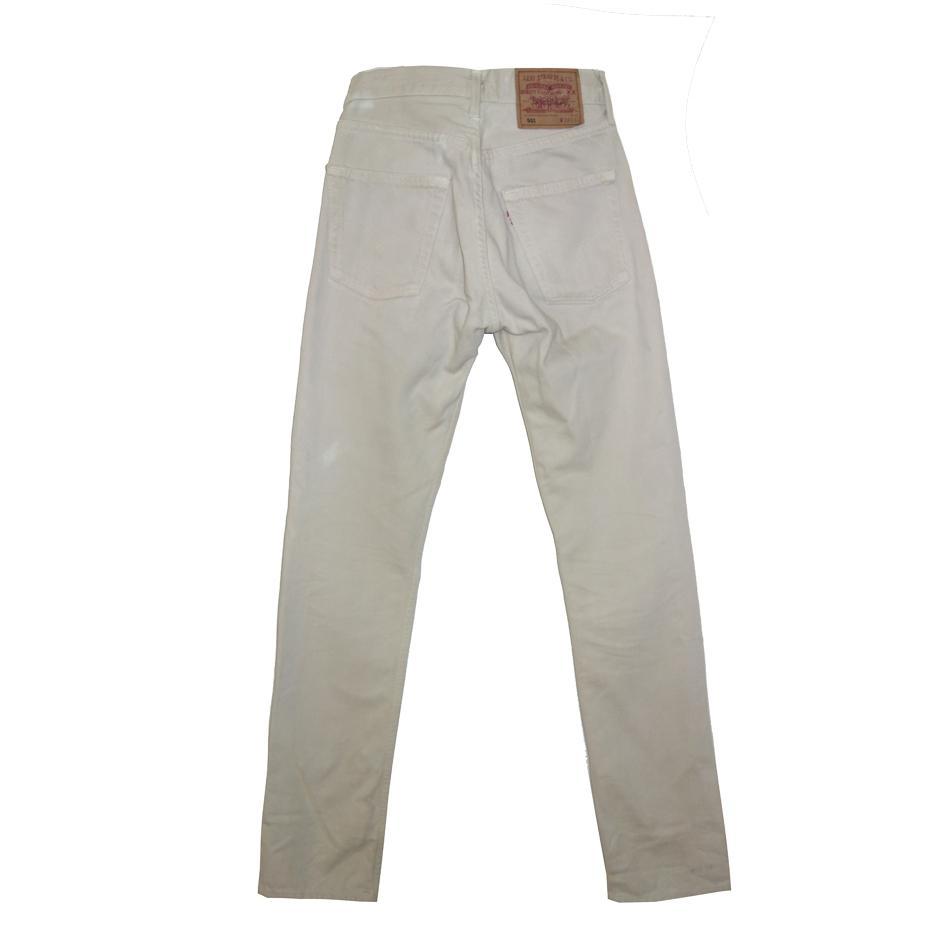 Pantalons - Jeans Levi's 501 beige