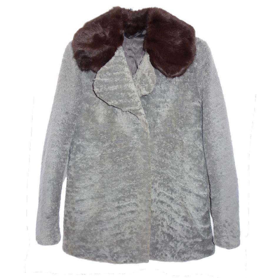Vestes/Manteaux - Veste en mouton