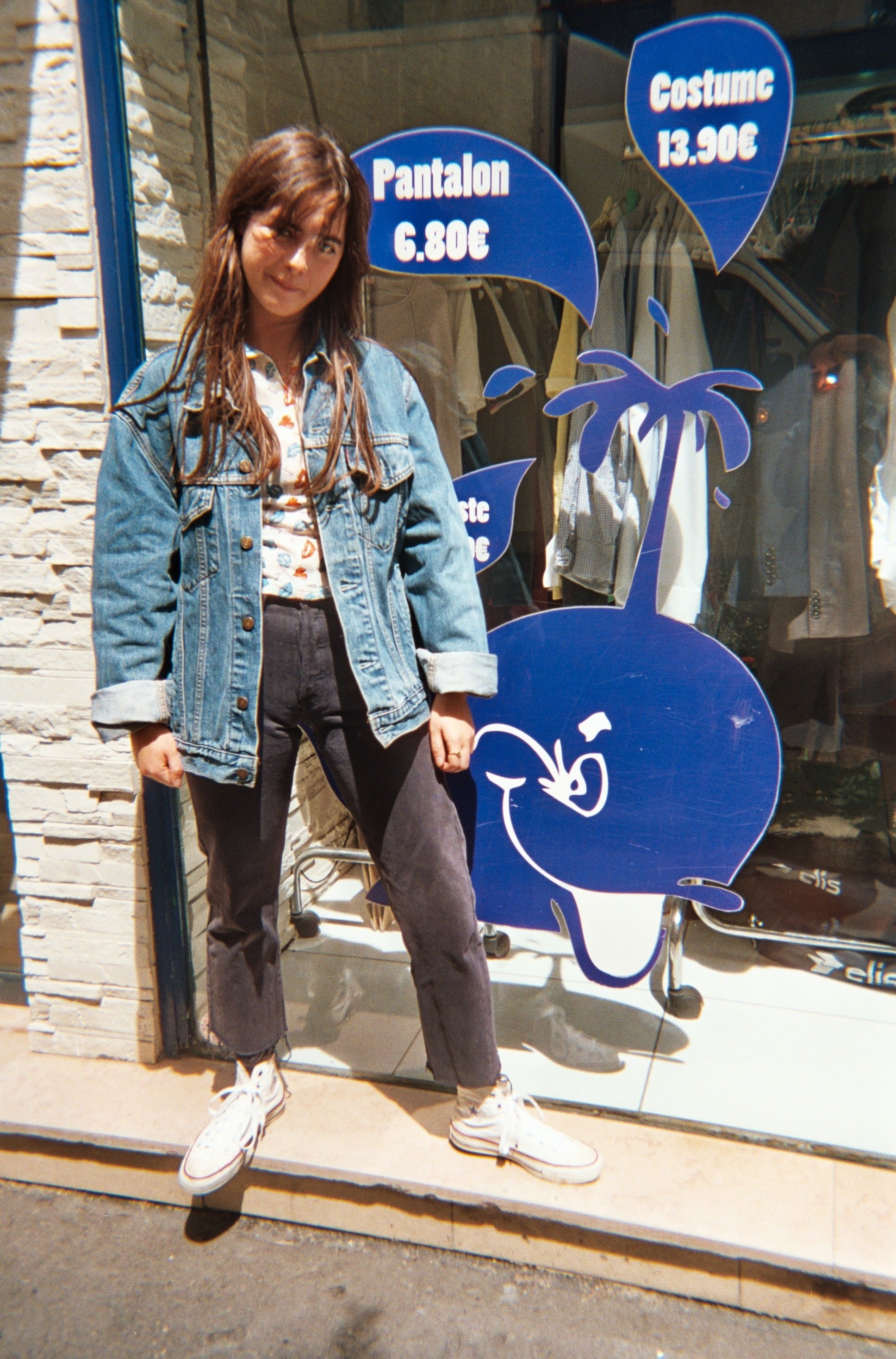 Pantalons - Jeans Levi's 501 bleu marine