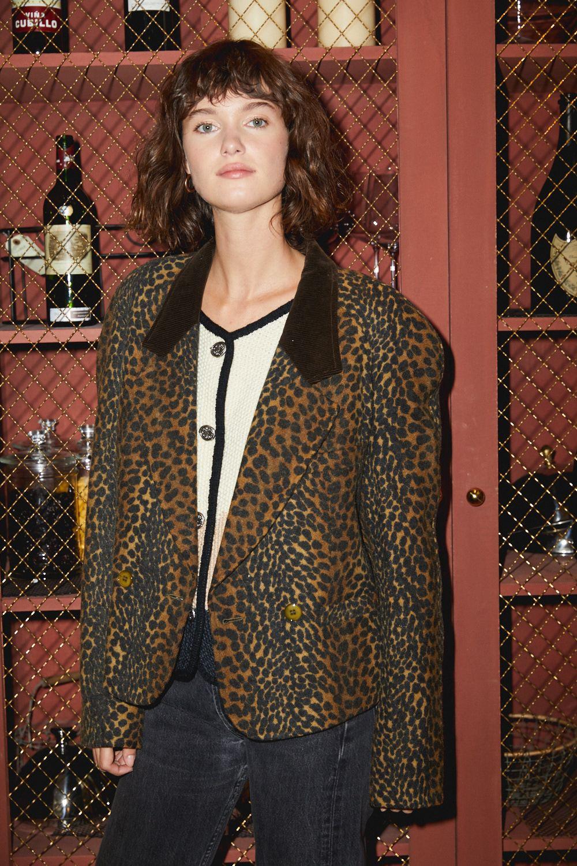 Vestes/Manteaux - Blazer léopard Kenzo