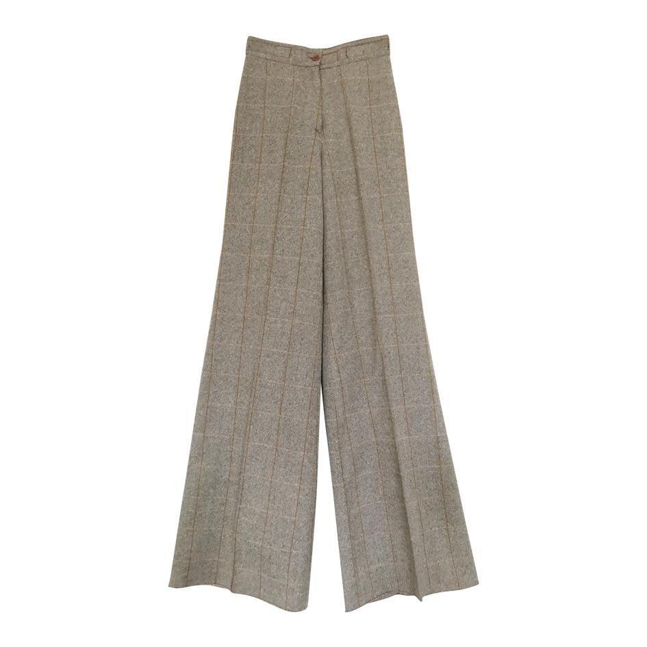Pantalons - Pantalon flare tweed