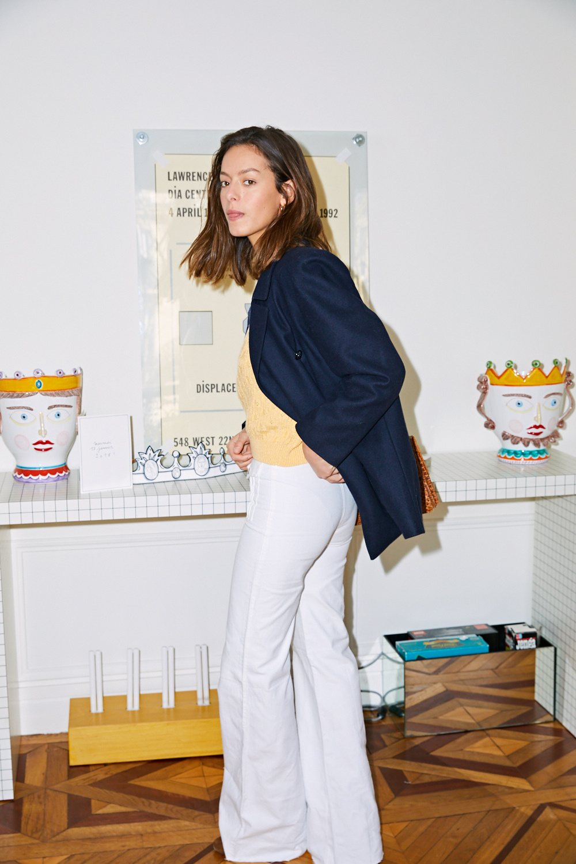 Pantalons - Jean flare blanc