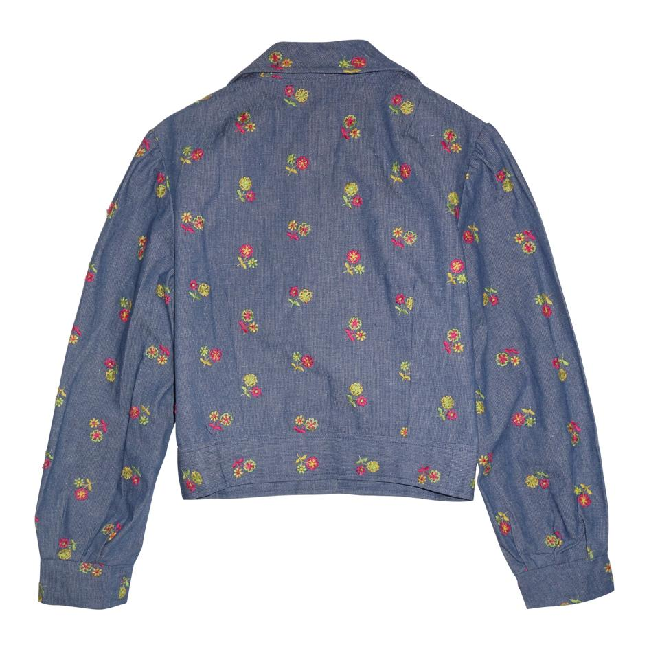 Vestes/Manteaux - Veste à fleurs