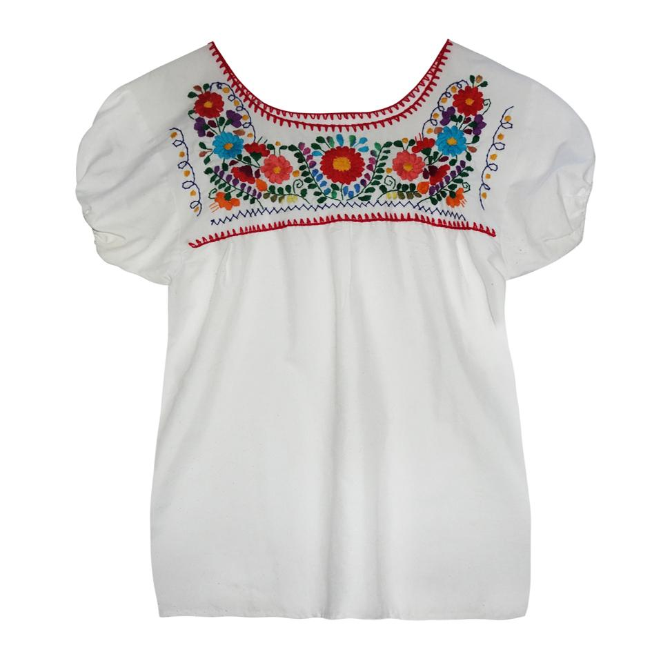 Tops - Blouse mexicaine
