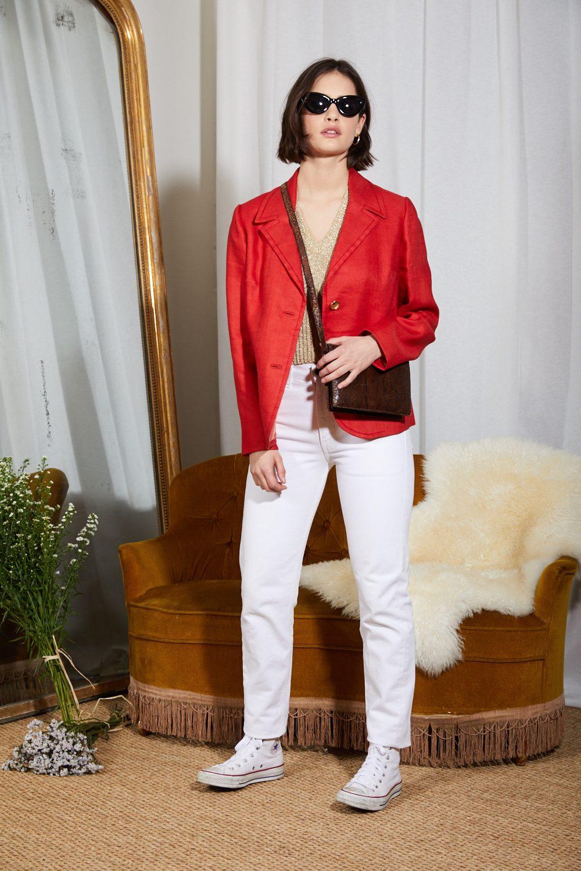 Pantalons - Jean Levi's 534 blanc