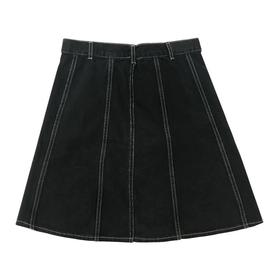 Jupes - Jupe en jean noir
