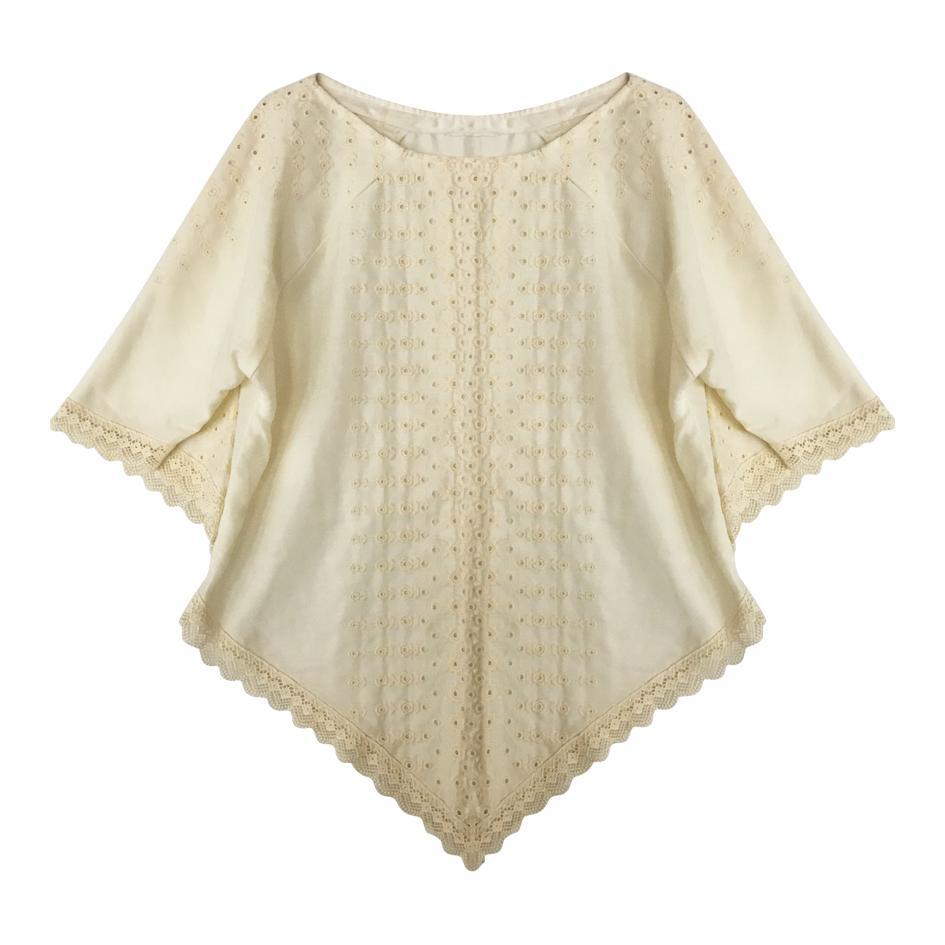 Tops - Blouse en coton manches bohêmes