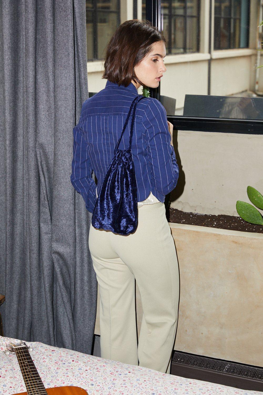 Pantalons - Pantalon flare beige