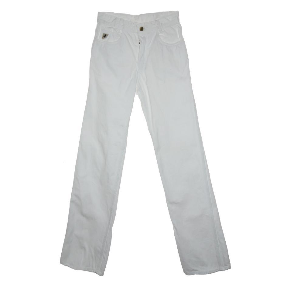 Pantalons - Jean flare blanc Lois
