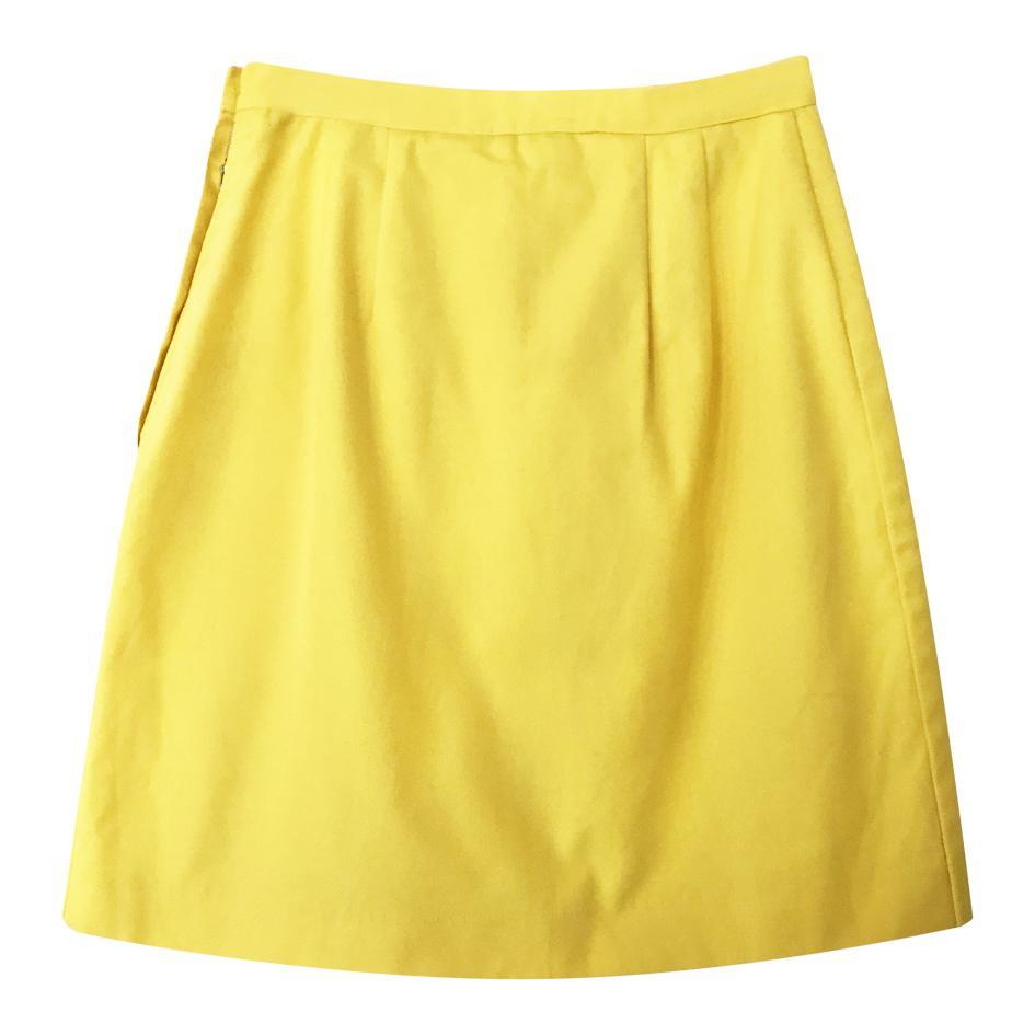 Jupes - Jupe culotte jaune