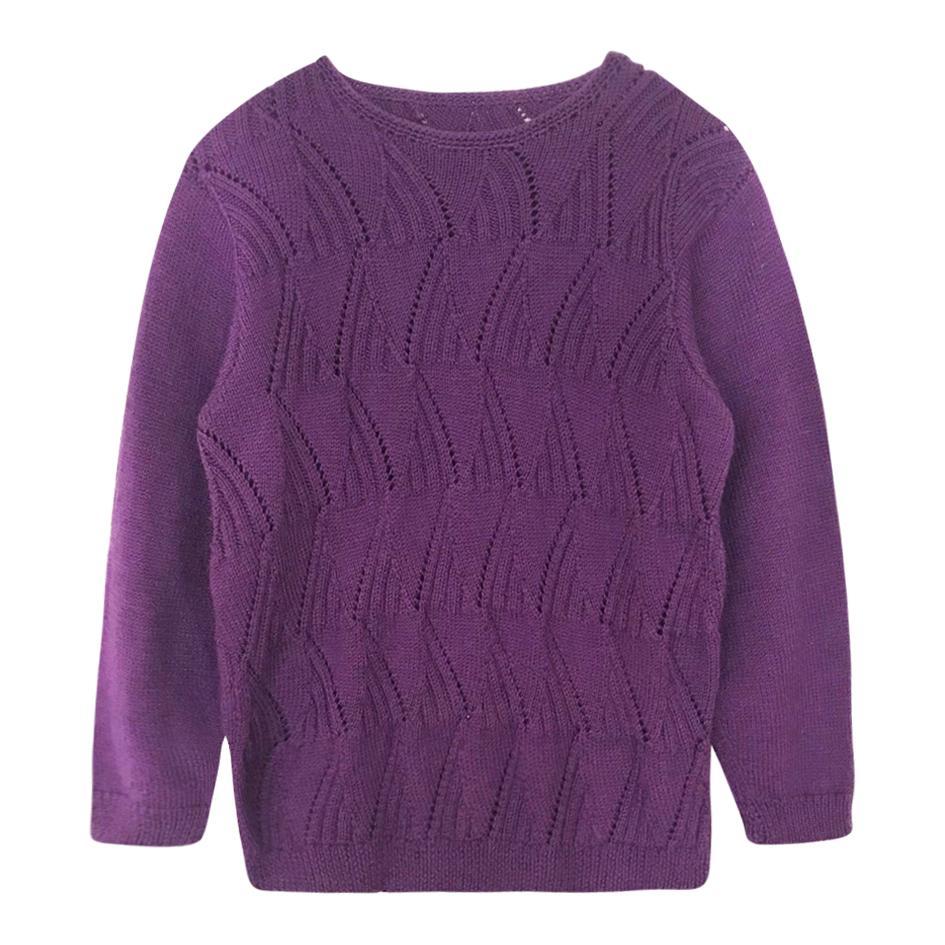 Pulls - Pull en laine améthyste