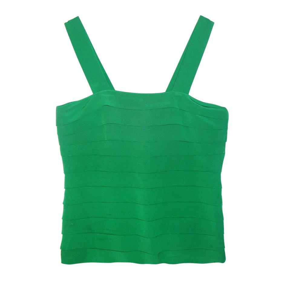 Tops - Top à bretelles vert