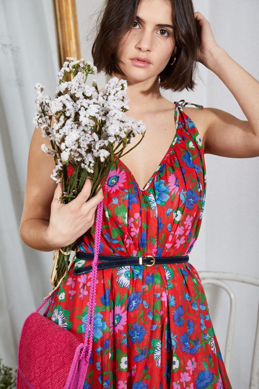 Robes - Robe fleurie Christian Dior