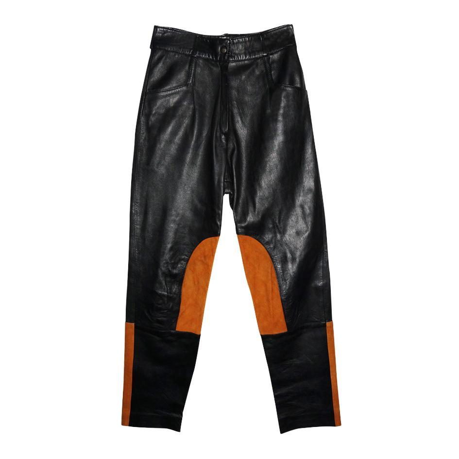 Pantalons - Pantalon bi-matière