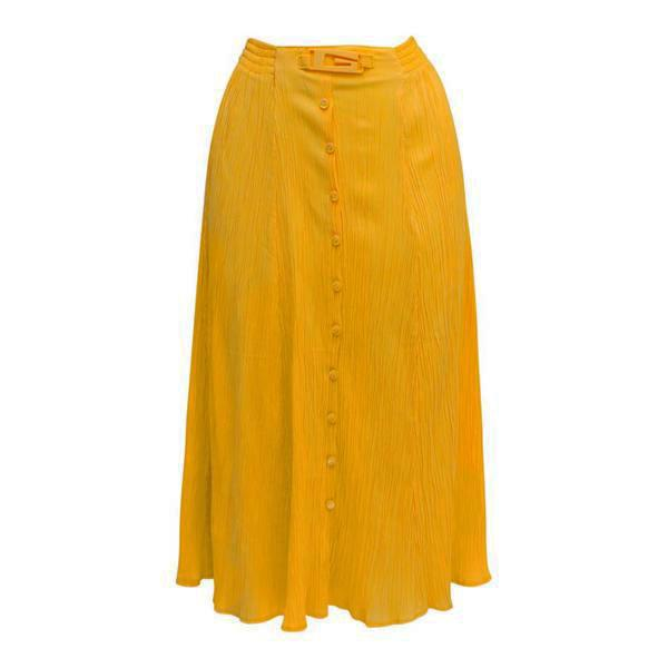 Jupes - Jupe longue jaune 70's