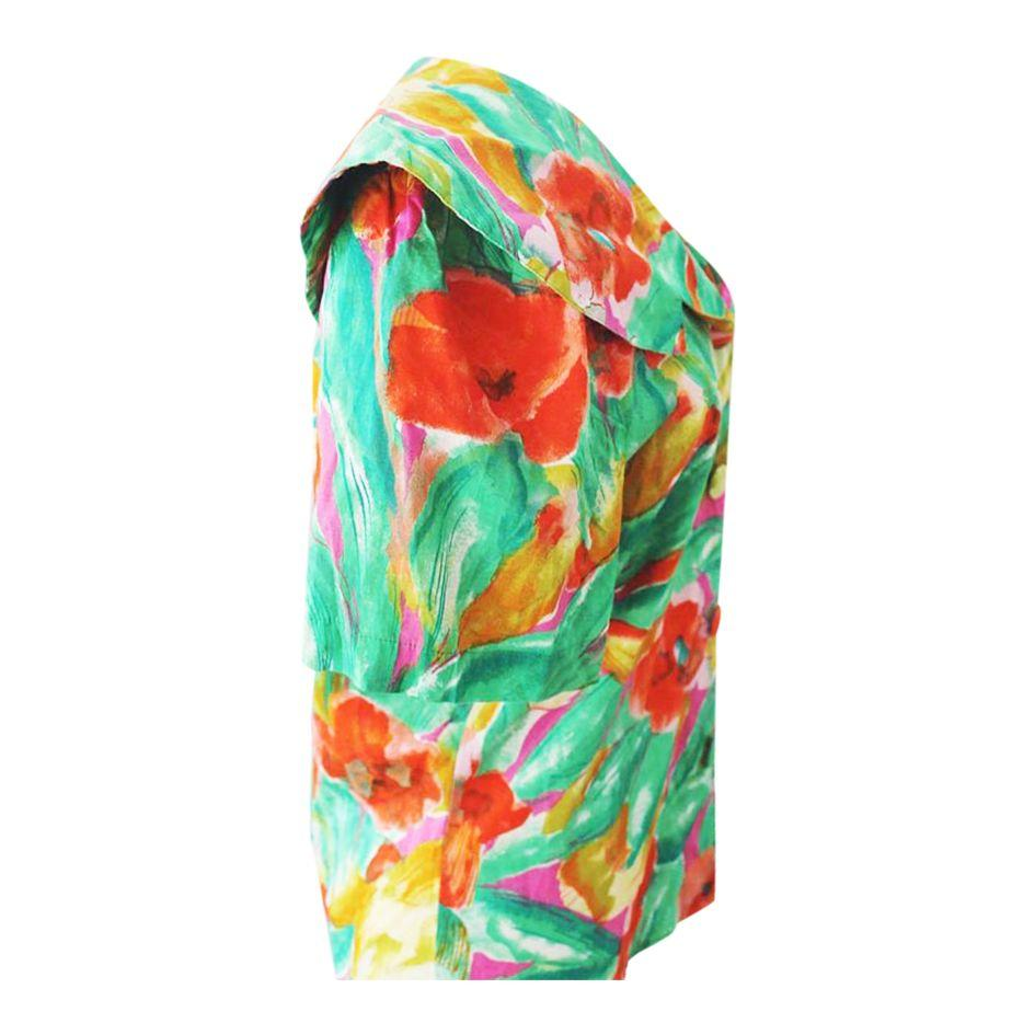 Tops - Blouse coquelicots