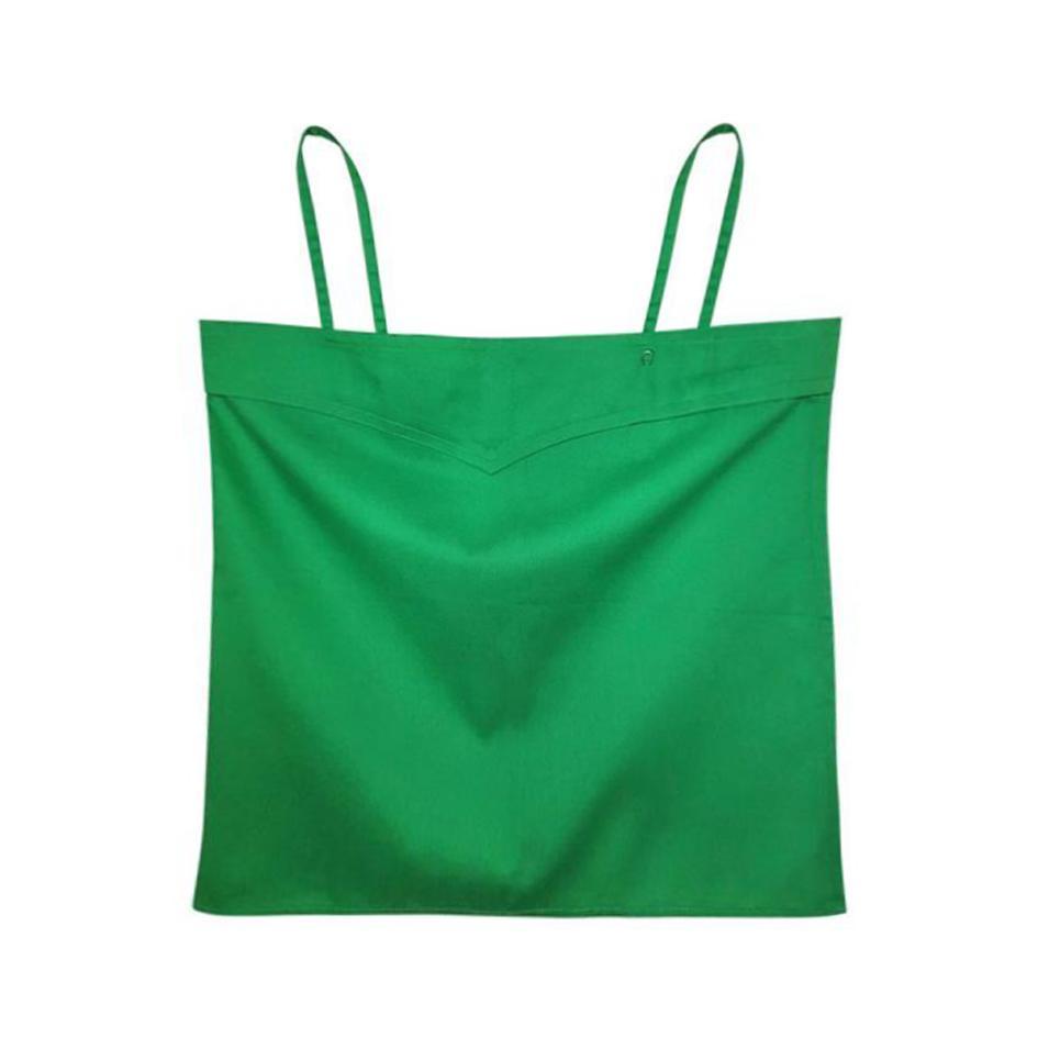 Top à bretelles vert