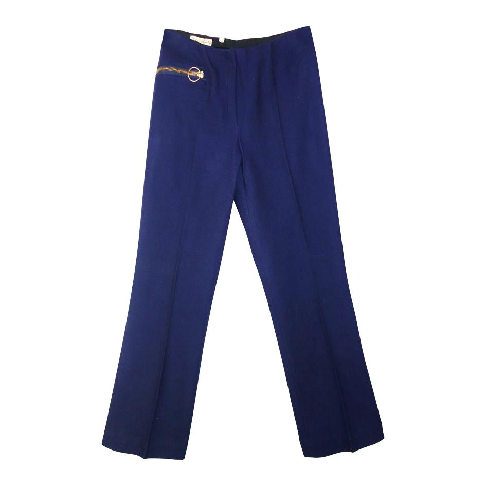 Pantalons - Pantalon bleu marine