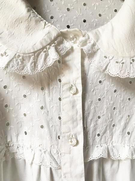 Tops - Chemisier à broderies anglaises