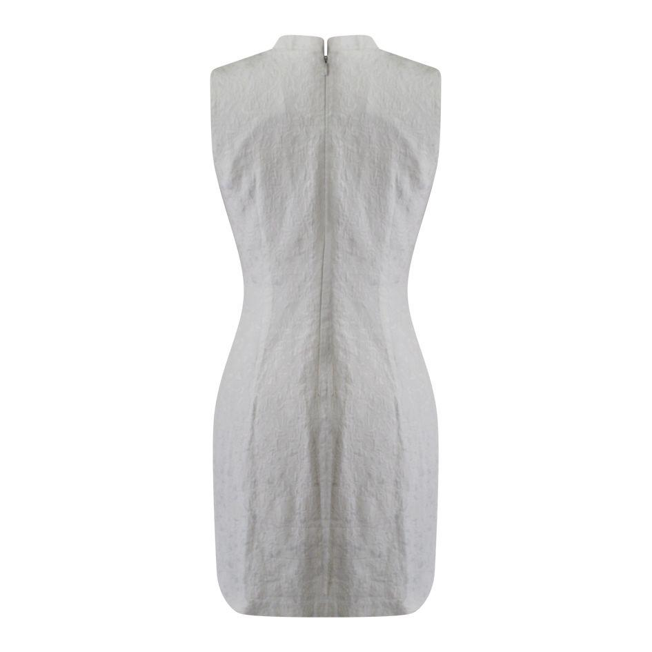 Robes - Robe chinoise blanche