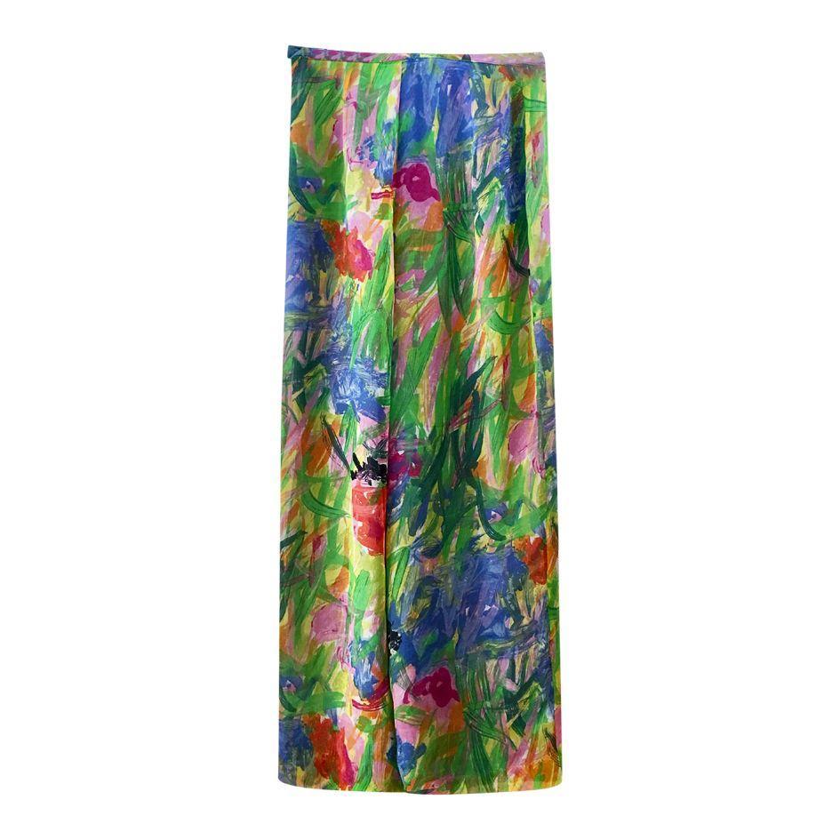 Pantalons - Pantalon en soie Kenzo