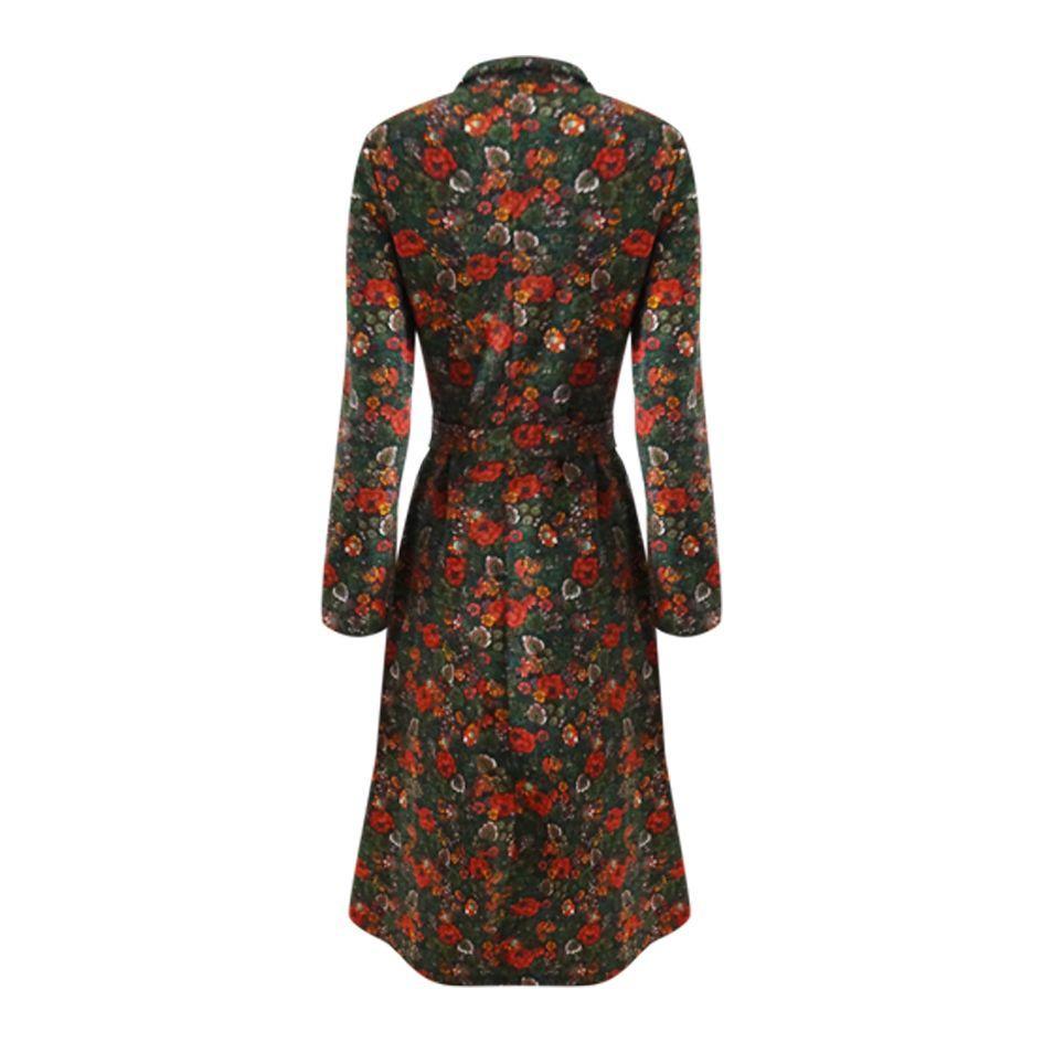 Robes - Robe 70's à fleurs