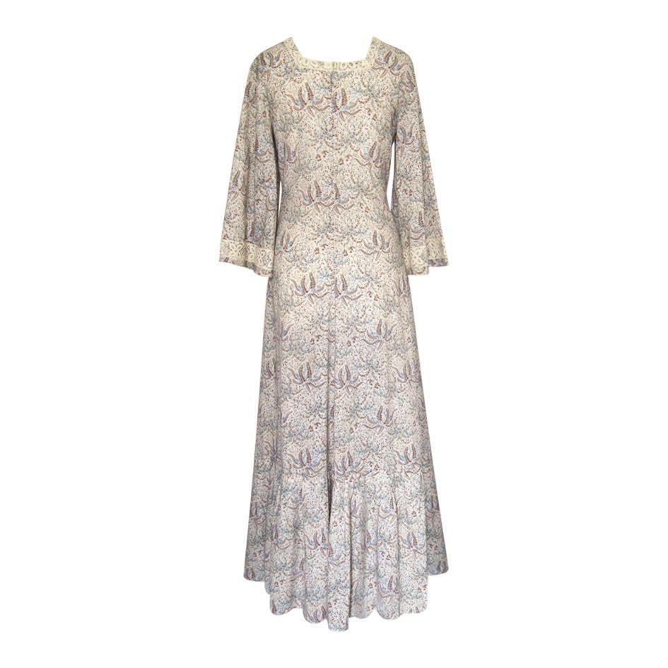 Robes - Robe longue bohème 70's