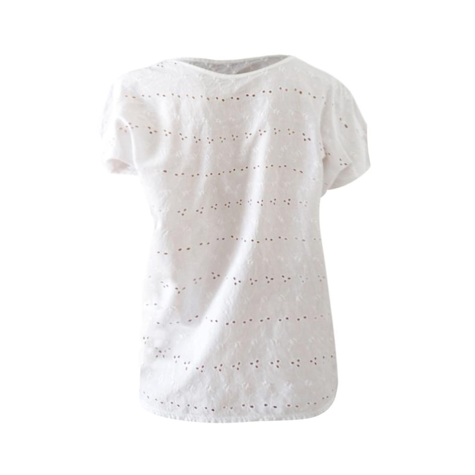 Tops - Top broderies anglaises