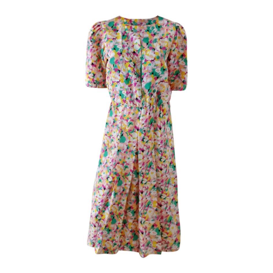 Robes - Robe à imprimé fleuri