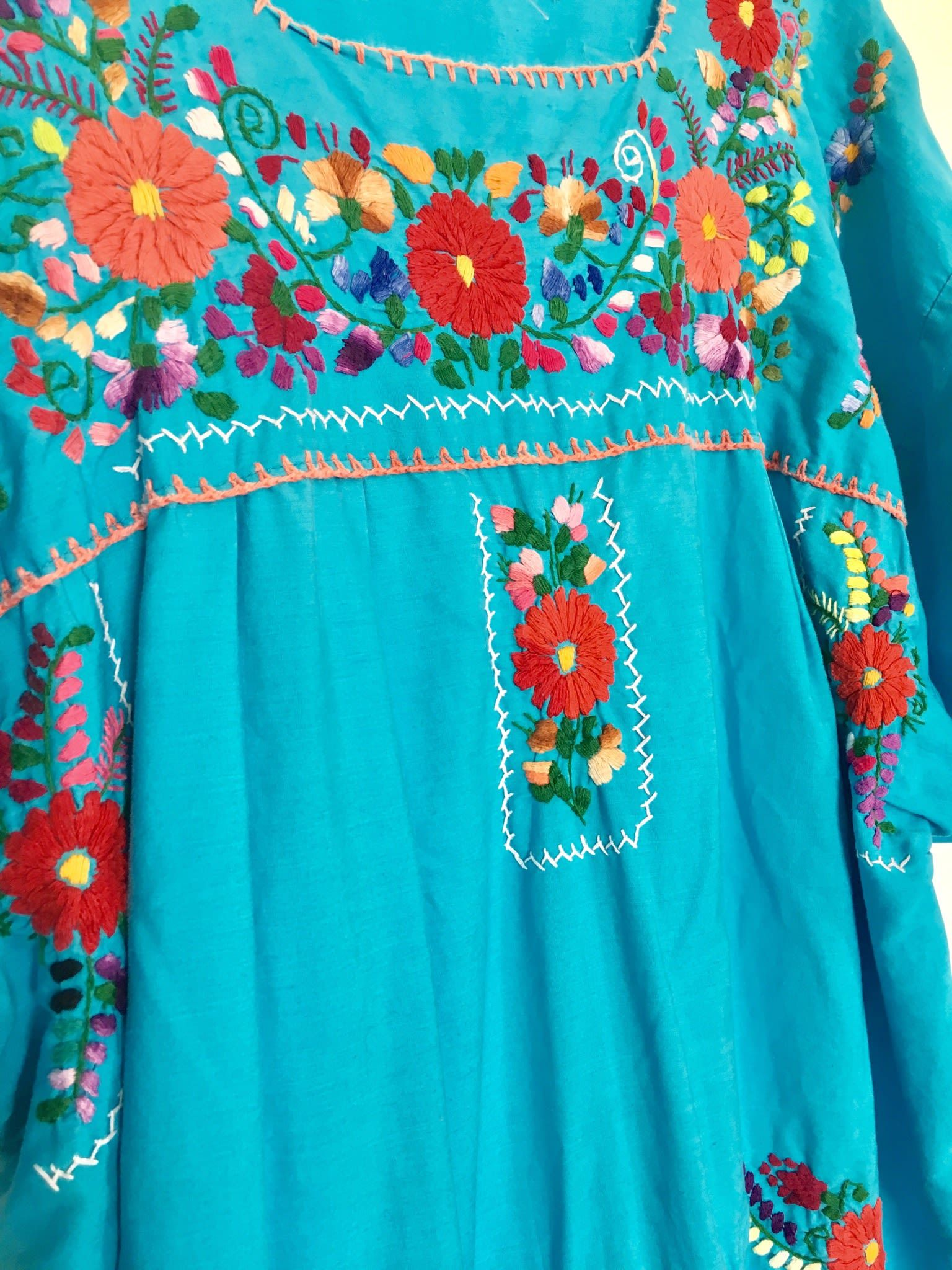 Robes - Robe longue mexicaine