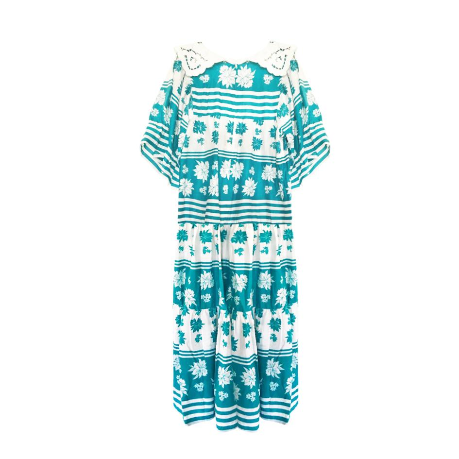 Robes - Robe longue tahitienne