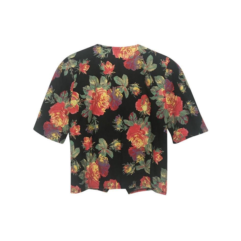 Tops - Top imprimé roses