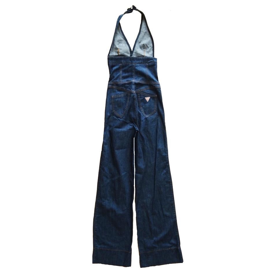 Combinaisons - Combinaison dos nu en jean