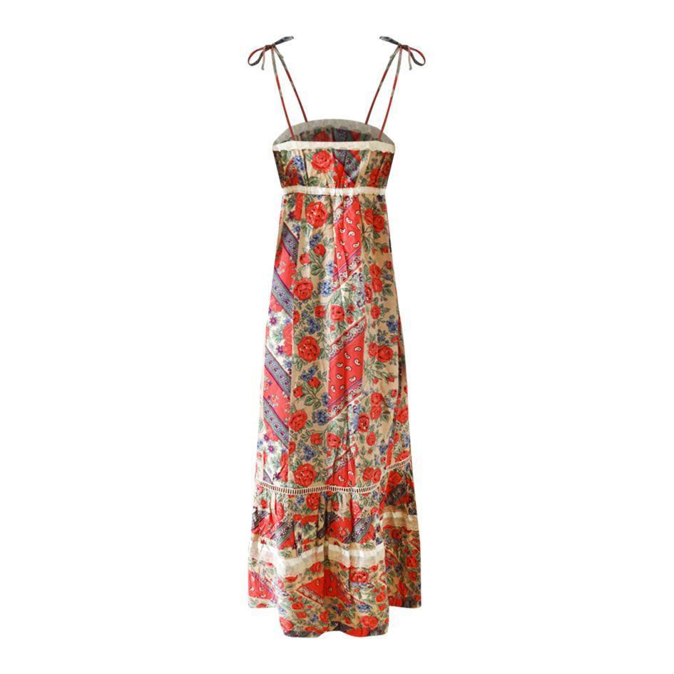 Robes - Robe longue à bretelles