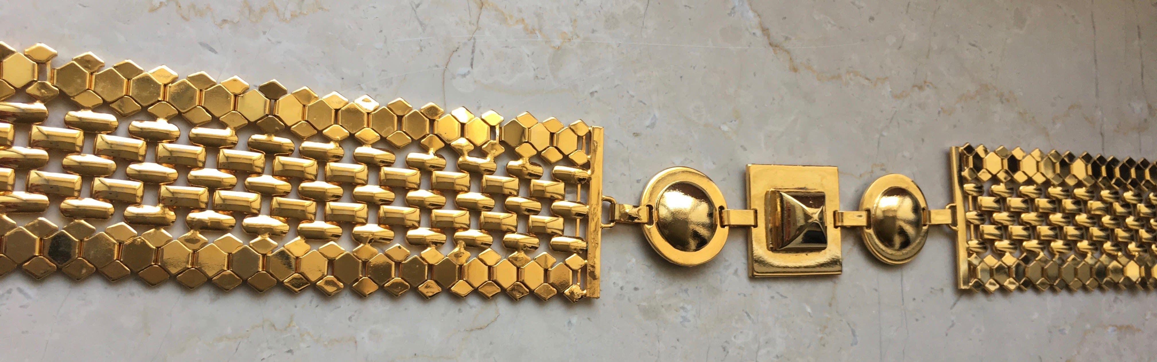 Accessoires - Ceinture dorée