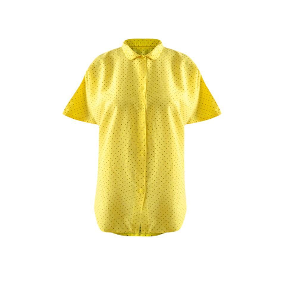 Tops - Blouse jaune à pois