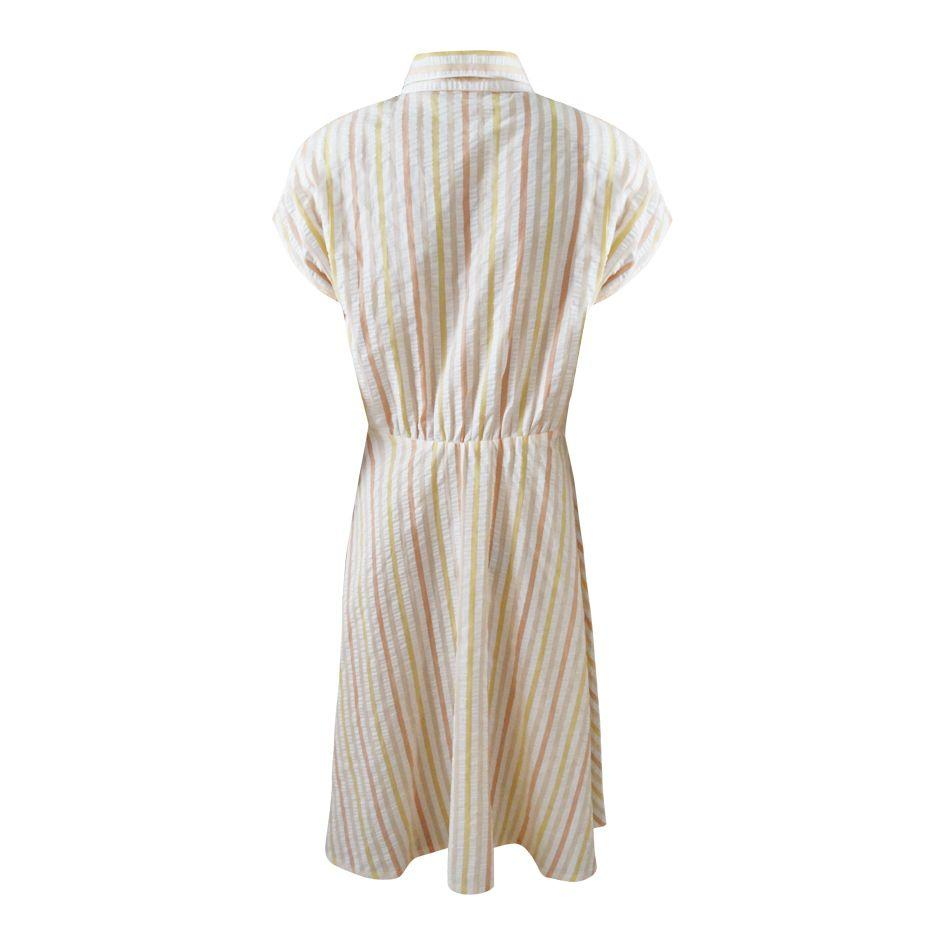 Robes - Robe chemise à rayures