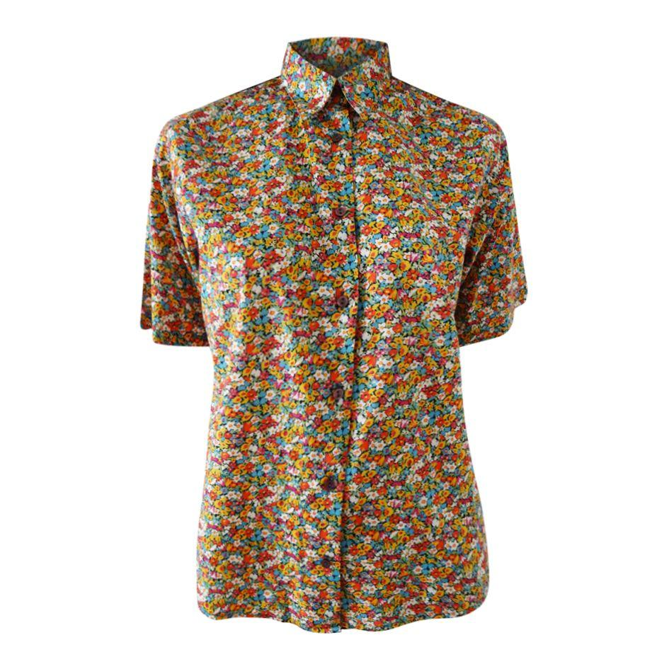 Tops - Chemisier manches courtes liberty