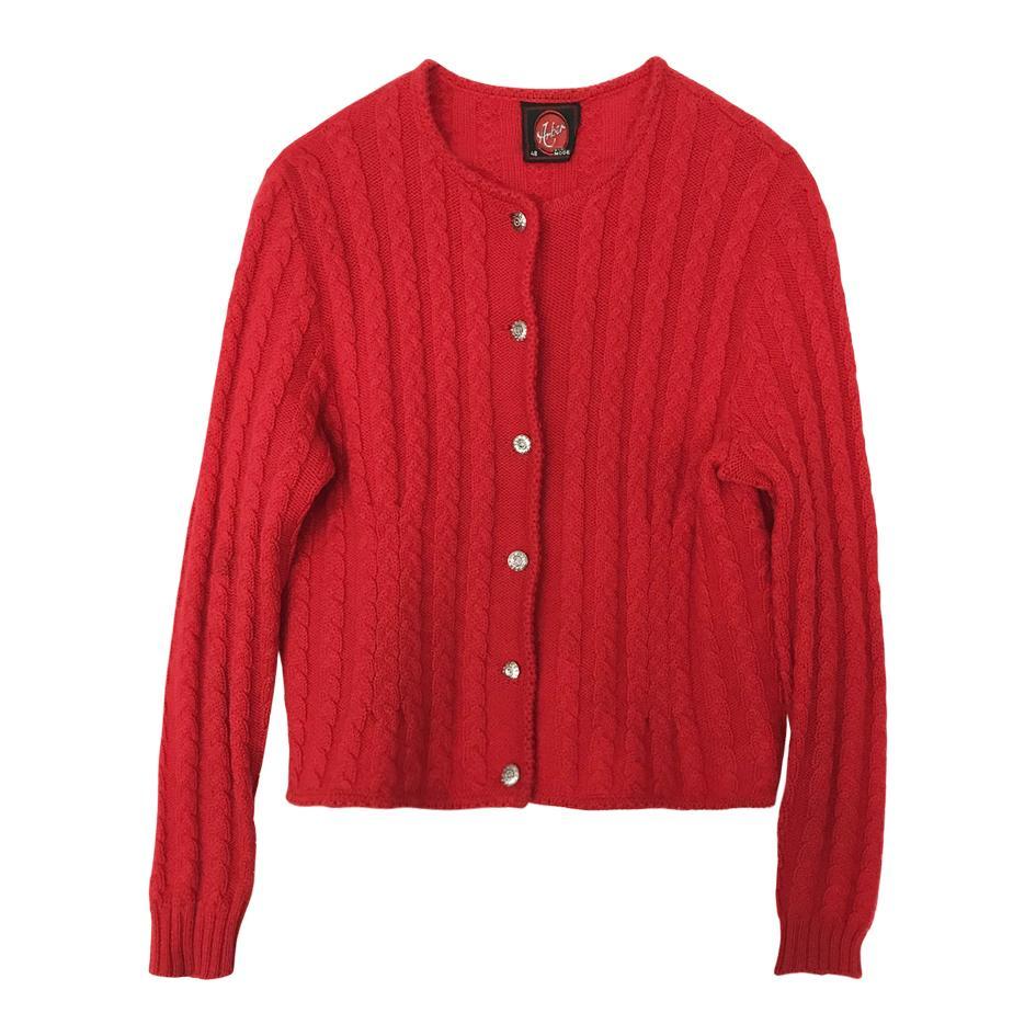 Pulls - Gilet autrichien rouge