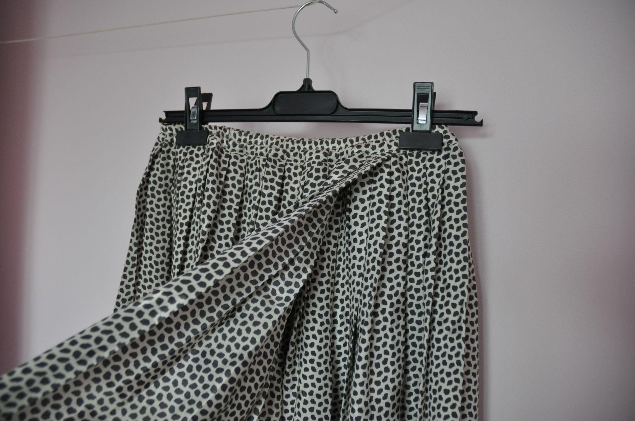 Jupes - Jupe portefeuille en soie