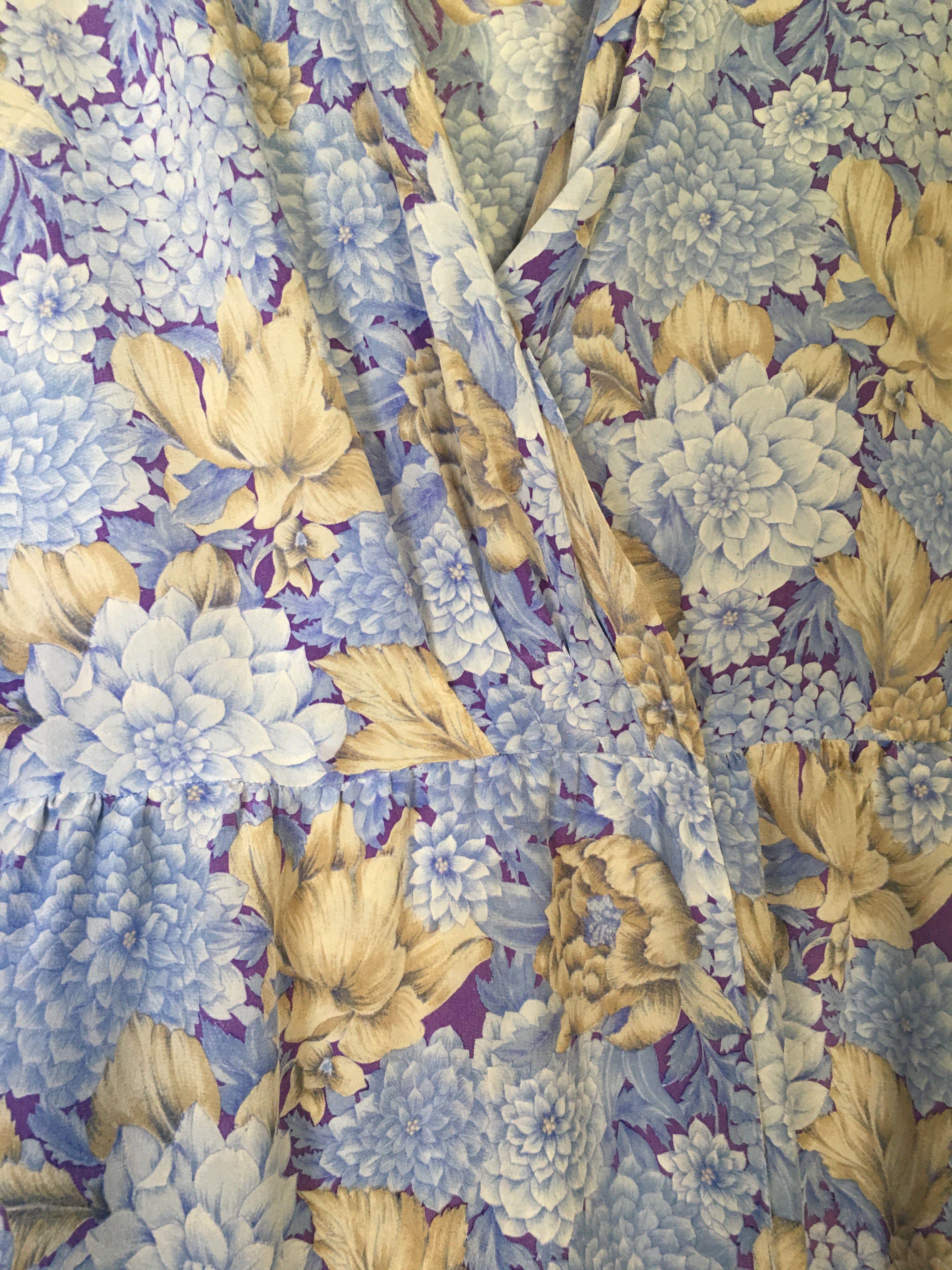 Robes - Robe portefeuille en soie