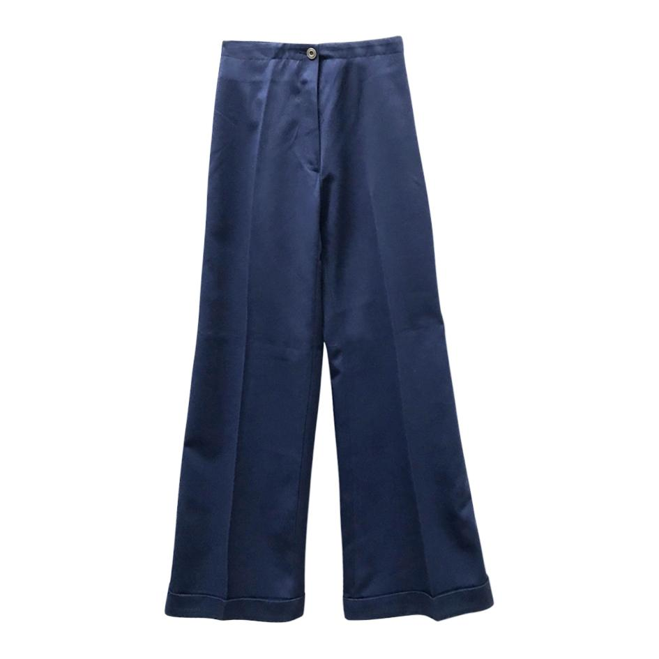 Pantalons - Flare bleu nuit