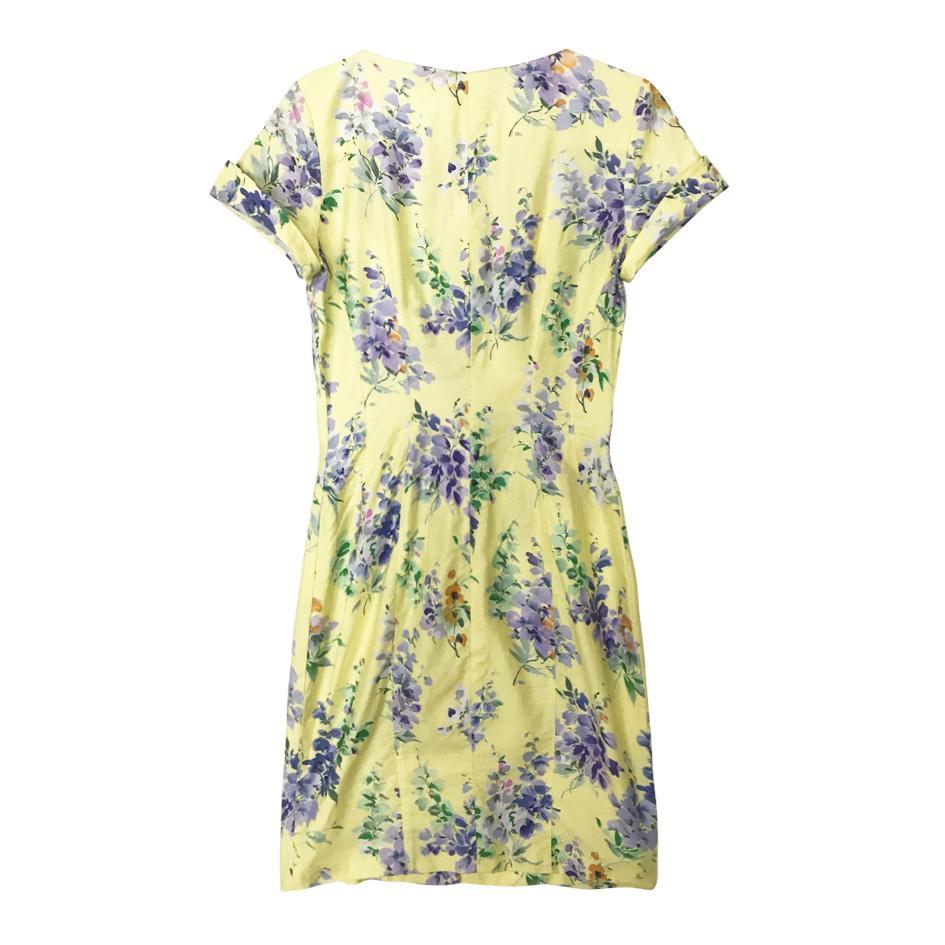 Robes - Robe à fleurs Mugler