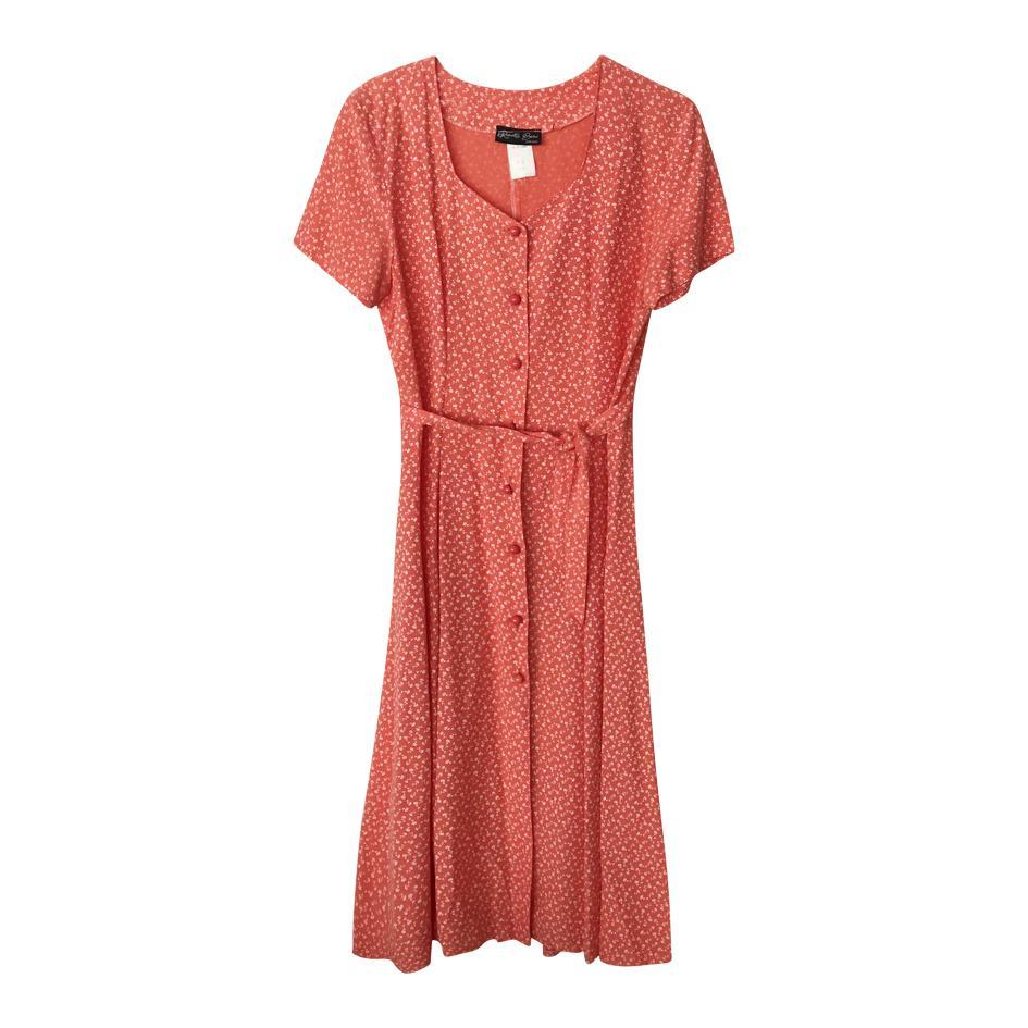 Robes - Robe midi fleurie